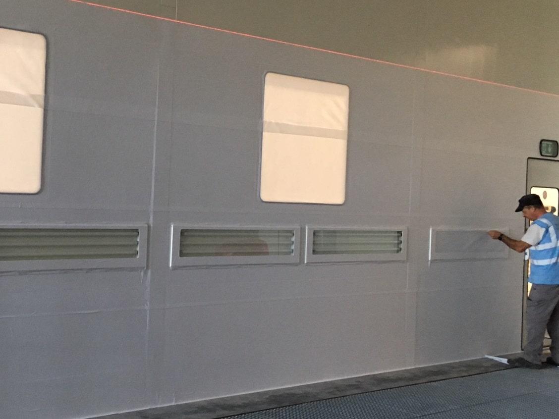 lifting votre cabine peinture fait peau neuve. Black Bedroom Furniture Sets. Home Design Ideas