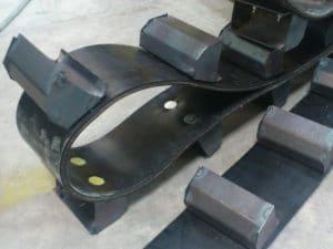 Fabrications métalliques sur mesure : courroie à godets