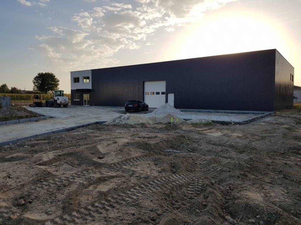 Nouvel atelier Aeole Techniques à Beychac et Caillau