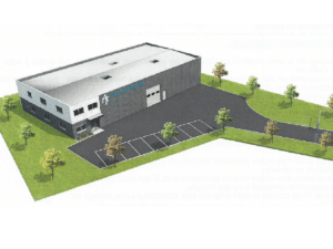 Nouveau bâtiment pour Aeole Techniques