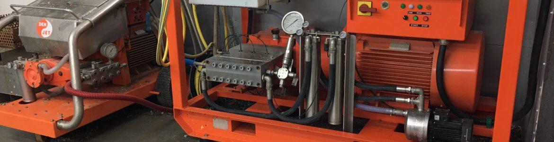 Décapeur UHP 2500 bars électrique