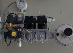 Brûleur gaz - Rampe Honeywell 300 kW