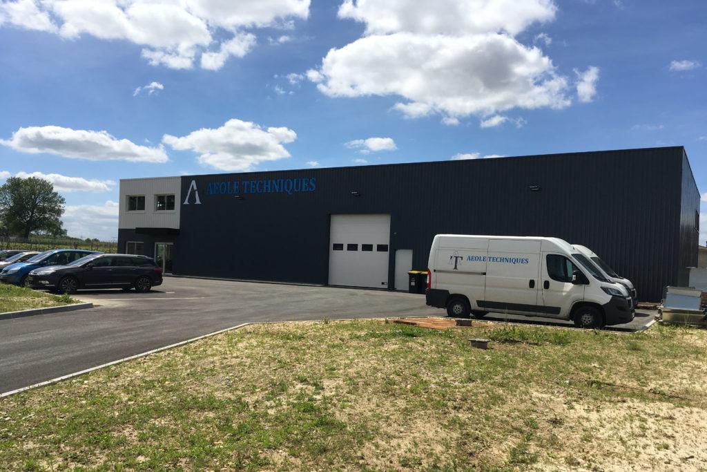 Base située à Beychac et Caillau, près de Bordeaux, département 33