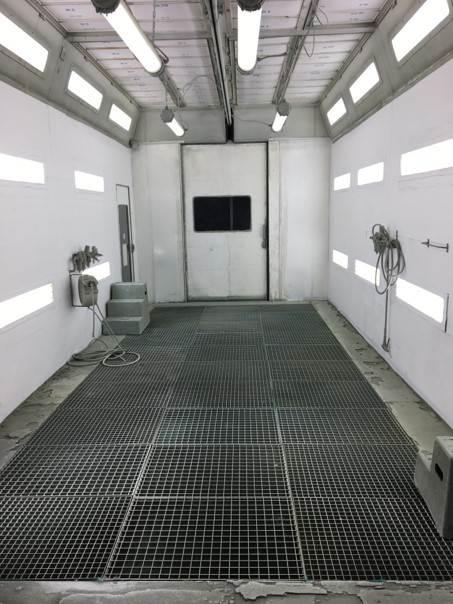 Protection par Dirt Trap 3M des parois de cabine de peinture