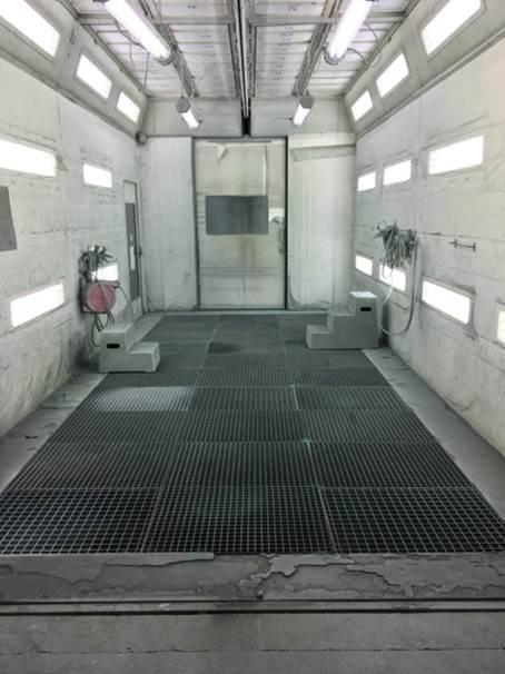 Parois cabine encrassées avant lifting